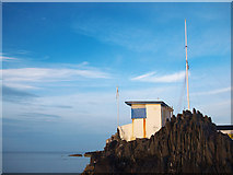 J5182 : Battery, Royal Ulster Yacht Club by Rossographer