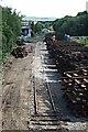 SD9212 : Milnrow station site 31 August 2010 by Bryan Tenny