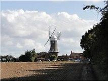 TF7632 : Great Bircham windmill by Adrian S Pye