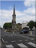 SP4540 : Banbury Cross by James Denham