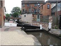 SO8554 : Sidbury Lock on the Worcester & Birmingham Canal by Richard Rogerson