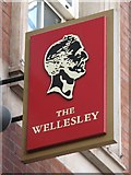 TQ3179 : Sign for The Wellesley, Waterloo  Station, SE1 by Mike Quinn