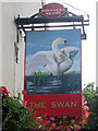 TQ7656 : The Swan sign by Oast House Archive