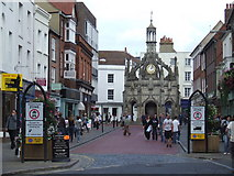 SU8604 : South Street, Chichester by Malc McDonald