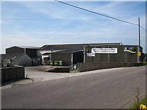 SW7145 : Brian Etherington Meat Company plant by Rod Allday