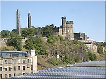 NT2674 : Buildings on Calton Hill by Stanley Howe
