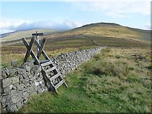 NT8623 : The Schil and the Pennine Way by Oliver Dixon