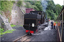 SH4862 : Welsh Highland Railway K1 at Caernarfon station by Ian Taylor