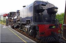 SH5752 : Welsh Highland Railway 87 at Rhyd-Ddu station by Ian Taylor