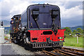 SH5941 : Welsh Highland Railway 87 at Pont Croesor station by Ian Taylor