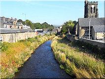 SE0125 : River Calder, Mytholmroyd by David Dixon