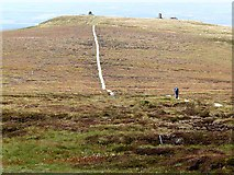 NT8919 : Auchope Cairn by Oliver Dixon