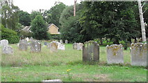 TM4077 : St. Peter, Holton: churchyard by Basher Eyre