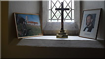 TM4077 : St. Peter, Holton: photos of past incumbents by Basher Eyre