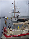 HU4741 : Tall Ship in Small Boat Harbour by Colin Smith