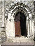 TM2850 : Melton, St Andrew: main entrance by Basher Eyre