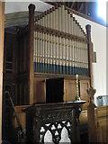 TM2850 : Melton, St Andrew: organ by Basher Eyre