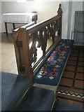 TM2850 : Melton, St Andrew: communion rail by Basher Eyre
