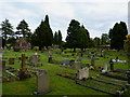 SJ6801 : Broseley Cemetery and the chapel of rest by Richard Law