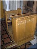 TM2850 : Melton, St Andrew: prayer desk by Basher Eyre