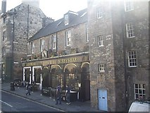 NT2573 : Greyfriars Bobby's bar by Stanley Howe