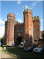 TQ5264 : Gatehouse at Lullingstone Castle by Oast House Archive