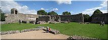 TQ5465 : Inside Eynsford Castle by Oast House Archive