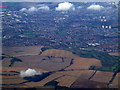TL1026 : North Luton from the air by Thomas Nugent