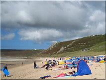 SW3526 : Sennen beach by Rod Allday