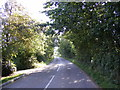 TM2964 : B1120 Badingham Road by Adrian Cable