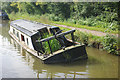 SJ9376 : Sunken narrowboat at Kerridge by Stephen McKay