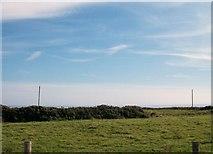 SH2428 : Farmland above Porth Neigwl by Eric Jones