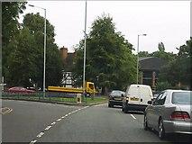 SO9098 : Wolverhampton Ring Road - Bath Street junction by J Whatley