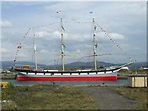 NS2975 : Tall ship Glenlee by Thomas Nugent
