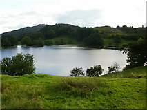 NY3404 : Loughrigg Tarn by Peter S