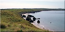SH2035 : The northern end of Traeth Penllech by Eric Jones