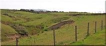 SH2035 : Cliff-top valley near Berthaur by Eric Jones
