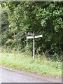 TM4164 : Roadsign on Hawthorn Road by Adrian Cable