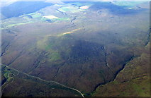NS6931 : Head of Greenock Water from the air by Thomas Nugent