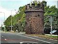 SJ6170 : The Round Tower, Sandiway by David Dixon