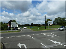 SU9850 : Stag Hill Roundabout (1) by Basher Eyre