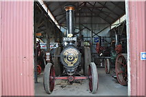 TM0458 : Burrell Engine in the Mortlock Building by Ashley Dace
