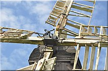 TM0458 : Detail of Eastbridge Pump by Ashley Dace