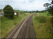 SD8656 : Railway south of Gillian's Laithe by Alexander P Kapp