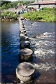 NU0601 : Stepping Stones over the Coquet by Mike White