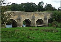 SP9599 : Bridge over River Welland by Tom Presland