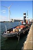 SJ3392 : Sandon Half-tide Dock by Chris Allen