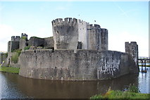 ST1587 : Caerphilly Castle by Peter Gwenlan