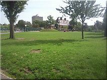 TQ2871 : Furzedown Recreation Ground by Marathon