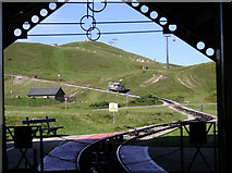 SH7783 : Great Orme Tramway by Chris Andrews